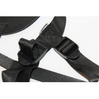 Трусики для страпона цвет чёрный PVC Notabu