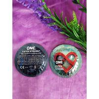 Латексные презервативы ONE Extra Strong 1 шт более сильная и прочная защита.