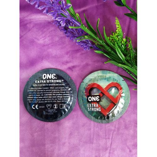 Латексные презервативы ONE Extra Strong 1 шт