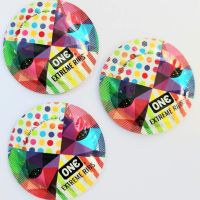 Презервативы с ребристой текстурой ONE Extreme Ribs 1 шт
