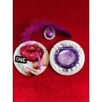 Презервативы ONE Bubblegum с ароматом и вкусом жвачки по 1 шт