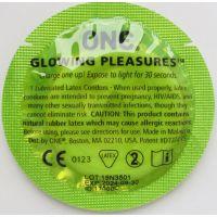 Презерватив светится в темноте 1 шт One Glowing Pleasures