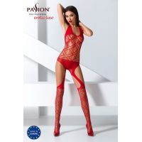 Эротический женский Бодистокинг Passion BS060 red Красный