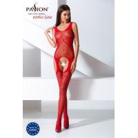 Эротический женский Бодистокинг Passion BS061 red Красный