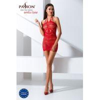Эротический женский Бодистокинг Passion  BS063 red Красный