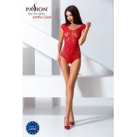 Эротический женский Бодистокинг Passion  BS064 red Красный