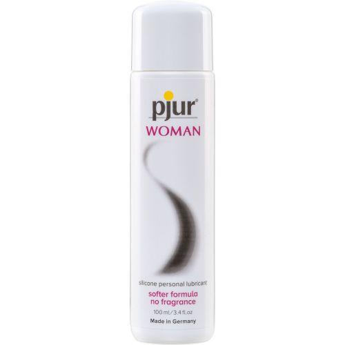 Лубрикант на силиконовой основе pjur Woman 100 мл вагинальный для чувствительной женской кожи (Пьюр, Пджюр)