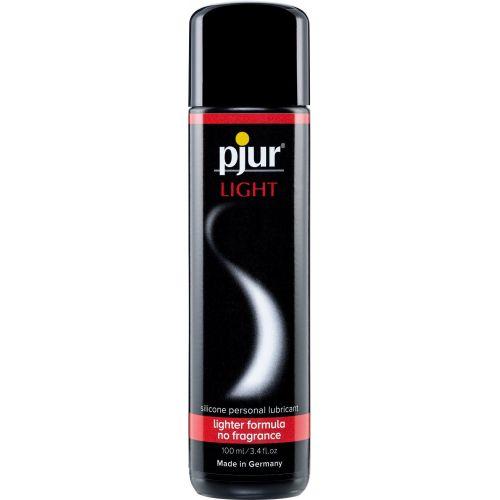 Лубрикант на силиконовой основе pjur Light 100 мл вагинальный и для игрушек (Пьюр, Пджюр) без вкуса и запаха