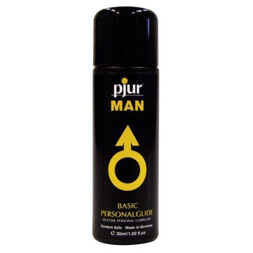Лубрикант на силиконовой основе pjur MAN Basic personal glide 30 мл мужской для презервативов с длительным скольжением (Пьюр, Пджюр)