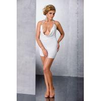 Эротическое платье белое MIRACLE CHEMISE white 6XL/7XL Passion
