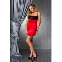 Эротическая сорочка красная LENA CHEMISE red 6XL/7XL Passion