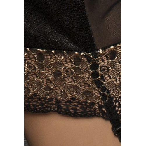 Эротический женский корсет CERES CORSET black S/M - Passion