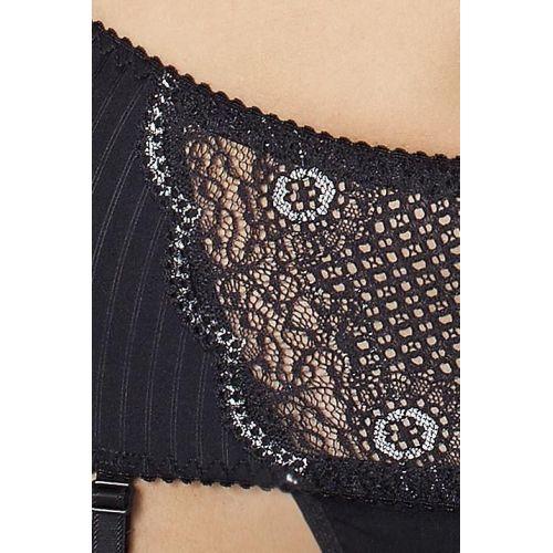 Женский сексуальный комплект EDITH SET black L/XL - Passion