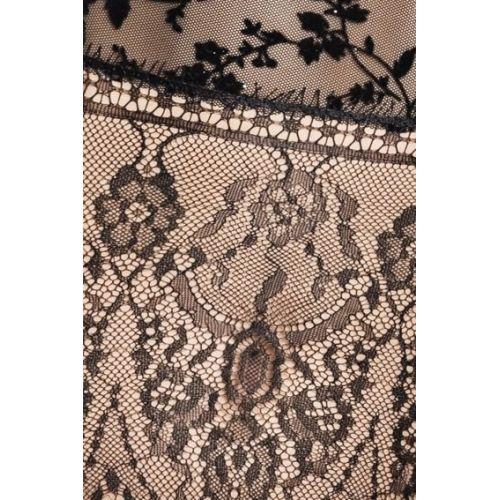 Интимный женский корсет FABRA CORSET black L/XL - Passion