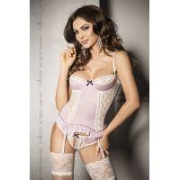 Эротический женский корсет SHANTI CORSET pink L/XL - Passion