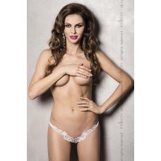 Сексуальные трусики ATHENA THONG white L/XL - Passion