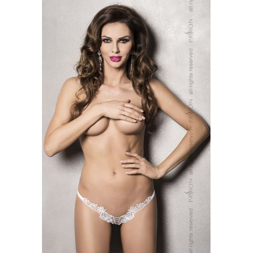Сексуальные трусики ATHENA THONG white XXL/XXXL - Passion