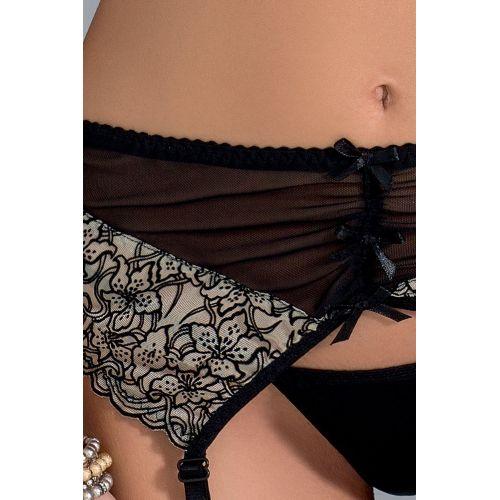 Интимный комплект для женщин MONTANA SET black XXL/XXXL - Passion