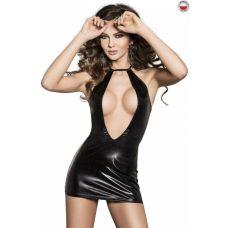 Платье соблазнительное черное FEMI DRESS XXL/XXXL Passion Exclusive