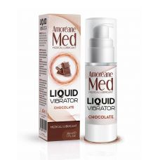 Возбуждающий лубрикант с ароматом шоколада (Жидкий вибратор) Amoreane Med 30 мл