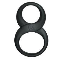 Эрекционное кольцо Rocks Off 8 Ball Black