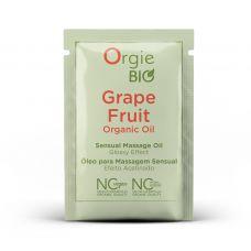 Пробник органическое массажное масло с ароматом грейпфрута GRAPE FRUIT Orgie BIO