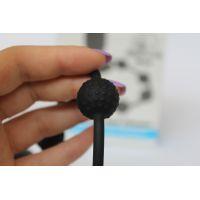 Эрекционное вибро кольцо с анальной стимуляцией Sex Expert черного цвета L 9,5 см D 3,5 см
