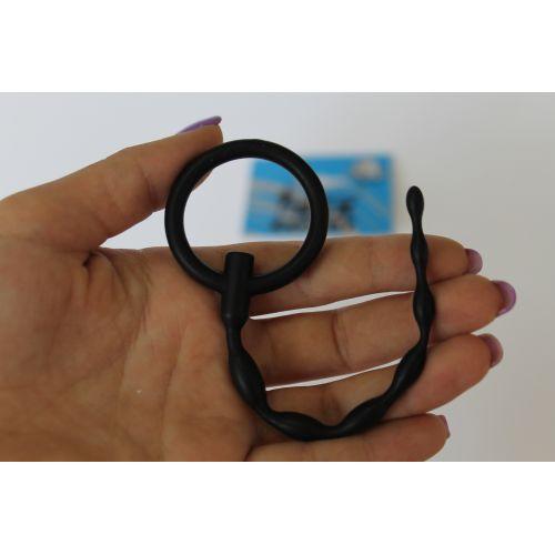 Уретральный стимулятор L 120 мм D 5x6 мм цвет чёрный SEX EXPERT