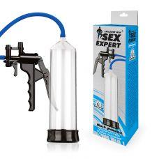 Вакуумная помпа для увеличения члена Sex Expert (M) L 200 мм D 55 мм SEM-55166