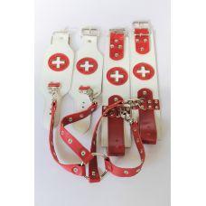 Кожаный БДСМ набор Медсестра Scappa