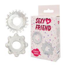 Кольцо эрекционное 2шт Sexy Friend