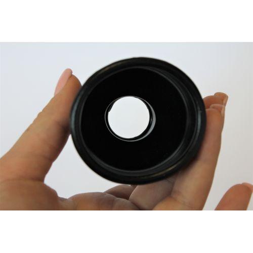 Насадка для помпы силиконовая Sexy Friend черная размер S L 5 см D 2,3 см