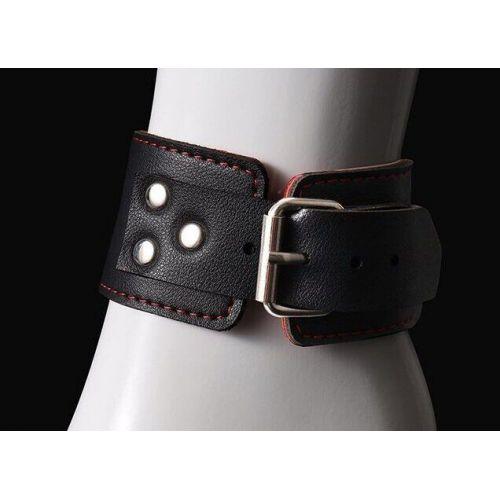 Оковы для БДСМ PVC Handcuffs Standart Leg Cuffs