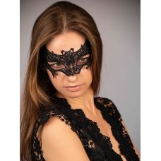 Ажурная венецианская маска черная SKN-C011