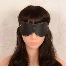 Закрытая маска на глаза черного цвета Classic SKN-C028