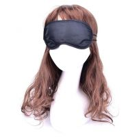 Закрытая маска на глаза SKN для БДСМ-игр черная