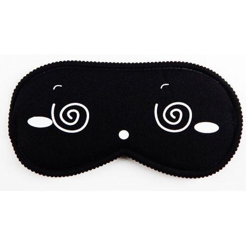 Черная закрытая маска на глаза Smile SKN для БДСМ
