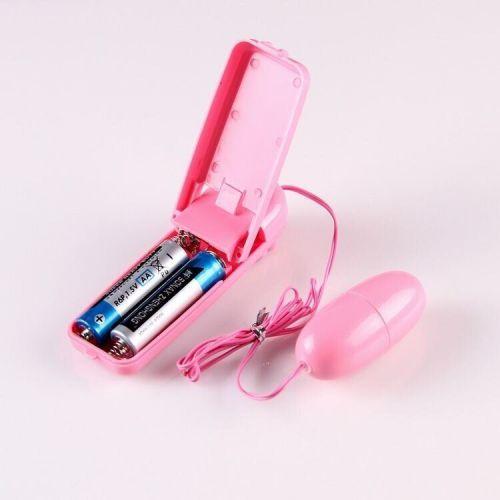 Виброяйцо мультискоростное розовое SKN-EG001