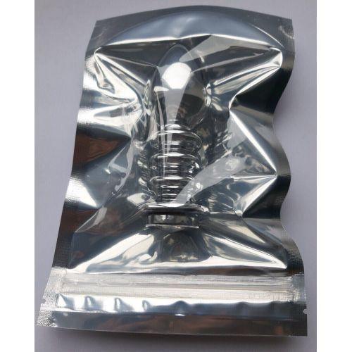 Рифленая анальная пробка с кристалом SKN-MS104