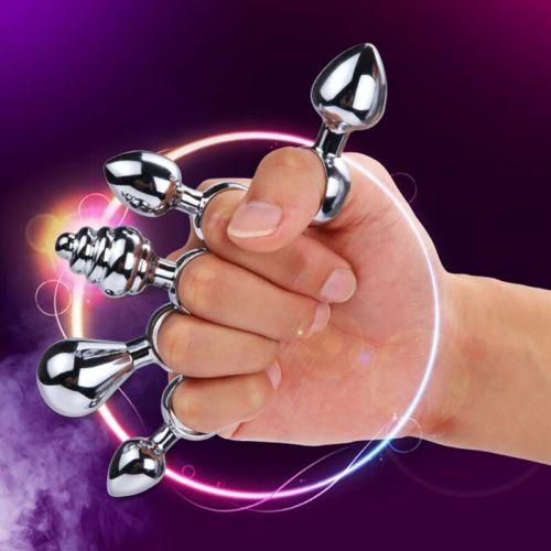 Сувенир-кольцо анальная пробка SKN-MS36 ( диаметр 2 см )