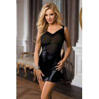 Сексуальное мини платье чёрное Sunspice O/S