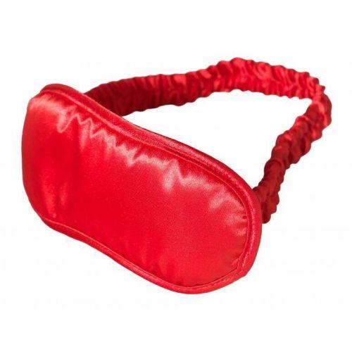 Маска на глаза красная Satin Love Mask