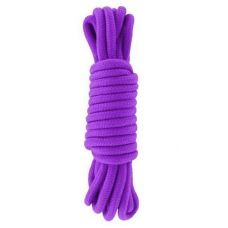 Бондажная веревка для шибари БДСМ-игр фиолетовая длина 5 метров sLash