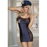 Эротический костюм Sunspice Дерзкая Полицейская S/M