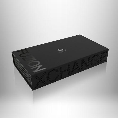 Массажер простаты Rocks Off Fuzion Xchange с пробкой анальной ребристый силиконовый с пультом ДУ 10 режимов вибрации и пульсации Рокс Офф Фюжн Иксчеиндж
