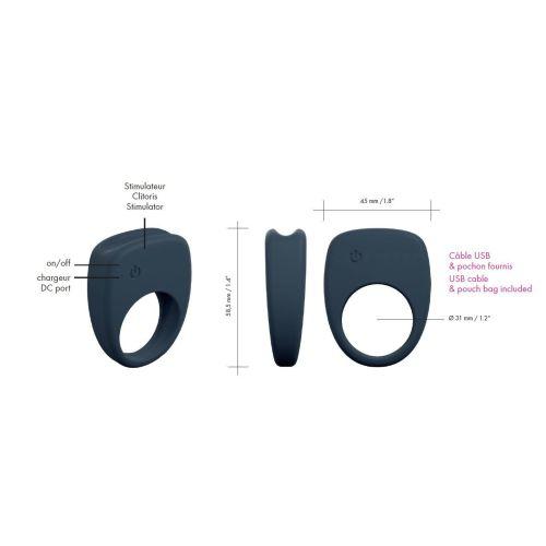 Эрекционное кольцо Marc Dorcel Mastering