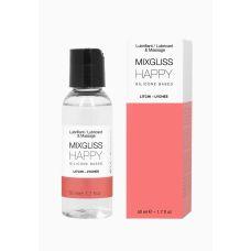 Лубрикант на силиконовой основе MixGliss HAPPY - LITCHI (50 мл)