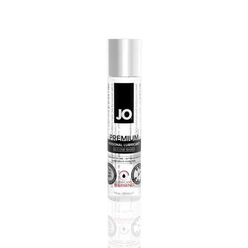 Лубрикант на силиконовой основе System JO PREMIUM - WARMING (30 мл) вагинальный к женской смазке согревающий водостойкий и для игрушек (Систем Джо)