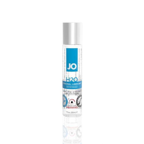 Лубрикант на водной основе System JO H2O - WARMING (30 мл) дополнение к женской смазке для игрушек и презервативов согревающий (Систем Джо)