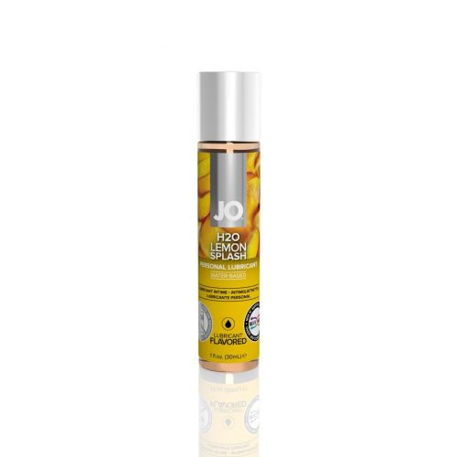 Лубрикант съедобный для оральных ласк вкус лимона System JO H2O 30 мл
